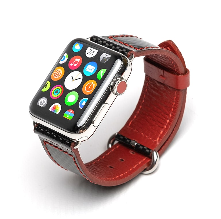 apple watch band red