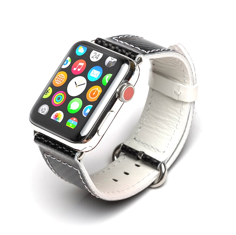 apple watch band white